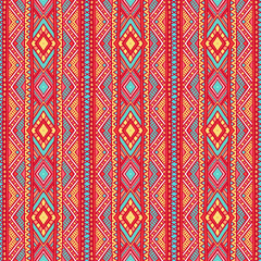 tribal vertical striped pattern - 1