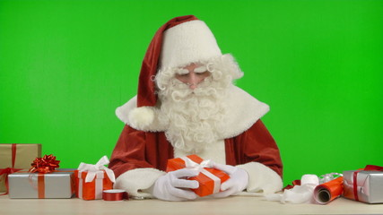 Santa Claus is Waiting and is Bored