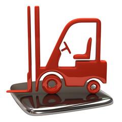 Lift truck icon