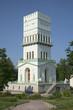 Постер, плакат: Белая башня в Александровском парке Царского Села