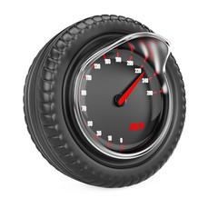 Speedometer in tire