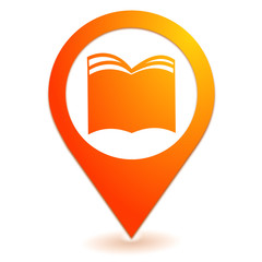 livres sur symbole localisation orange