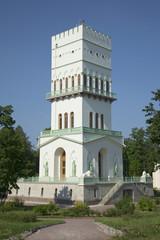 Белая башня в Александровском парке Царского Села