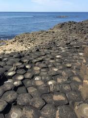 Chaussée des géants en Irlande