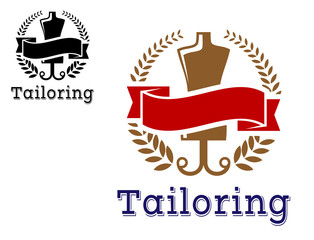 Fashion and tailoring emblem