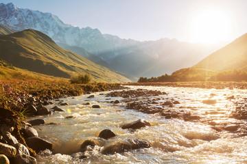 Fototapeta  górska rzeka