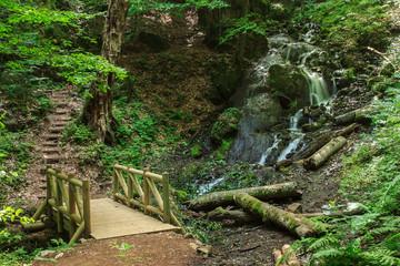 Beautiful view of waterfall in Yedigoller National park