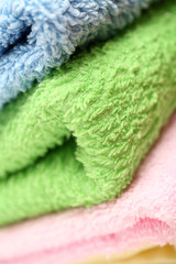 Towels close-up