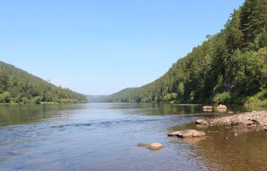 Река Кан, Красноярский край