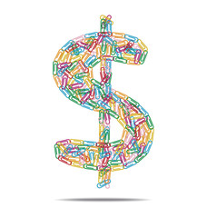 dollar symbol clips