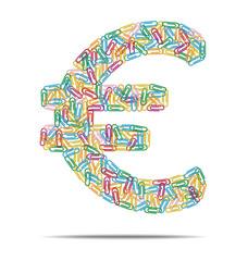 euro symbol clips