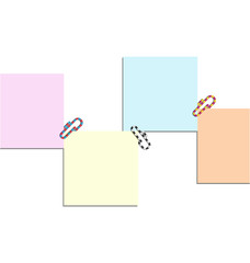 post it and clip colors