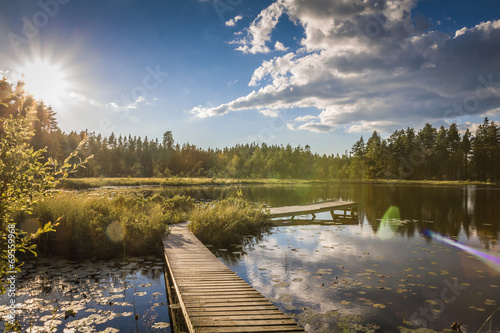 Swedish Lakeview © daskleineatelier