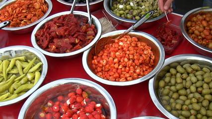 Tasting Greek food