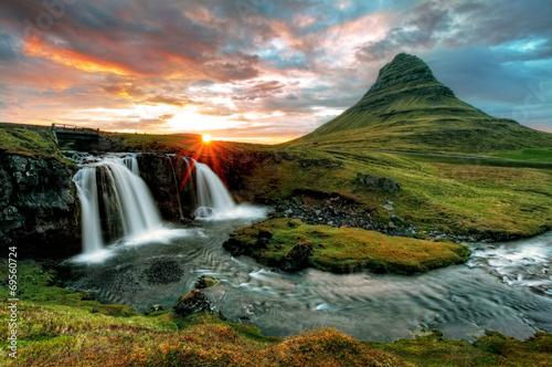 Fotobehang Vulkaan Iceland
