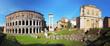 Rome - theatre marcellus, panorama