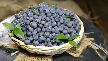 Heap of fresh Blueberries (not loopable full HD video)