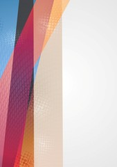Bright vector geometry background