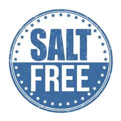 Salt free stamp