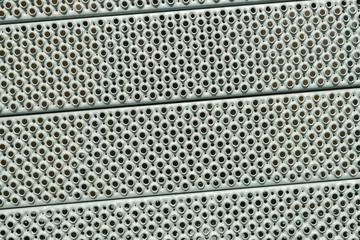 Antiskid steel panels