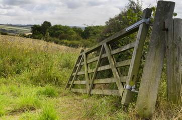 Broken Field Gate, Brubberdale, East Yorkshire