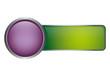 Button Vorlage - violett grün
