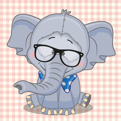 Hipster Elephant