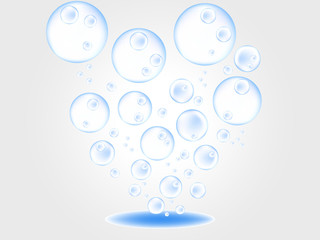 bubble light water ball