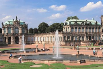Springbrunnen im Zwinger