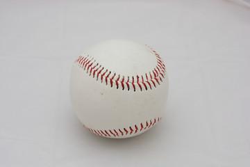 Isolated Baseball game equipment