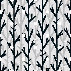 seamless pattern tree