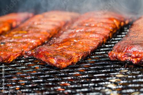 Aluminium Vlees Baby back ribs