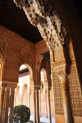 Alhambra Palace in Granada, Andalusia, Spain