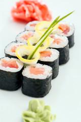 sushi in the bar