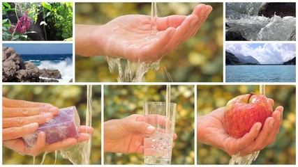 water is the most precious asset on the planet, montage