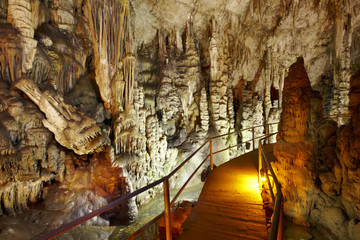 Dikteon cave. Place of Zeus birth. Crete. Greece