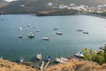Meeresbucht bei Livadia auf der Insel Astypalea, dodekanes