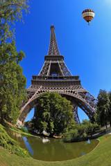 The symbol of Paris - Eiffel Tower