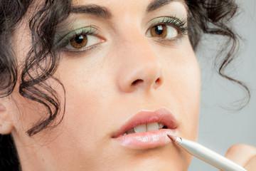 Woman perfect Make up