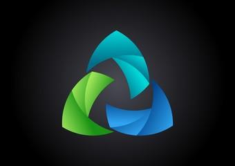 tech,logo,business,circle, swirl,abstract,vector,success