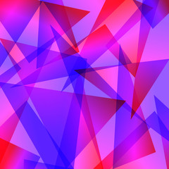 blue red Fractal Abstract Background different colors vector