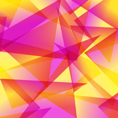 yellow red Fractal Abstract Background