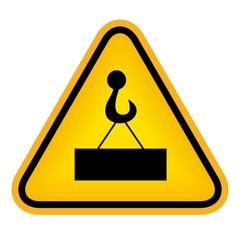Danger load sign
