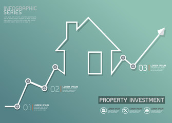 Property Investment Diagram Vector Template
