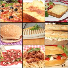 collage restauration rapide