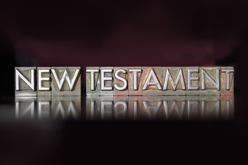 New Testament Letterpress