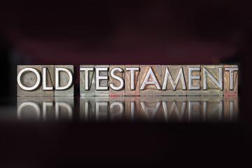 Old Testament Letterpress