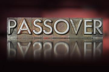 Passover Letterpress