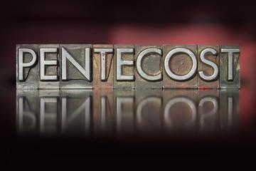 Pentecost Letterpress