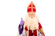 Happy Sinterklaas on white background - 69574345